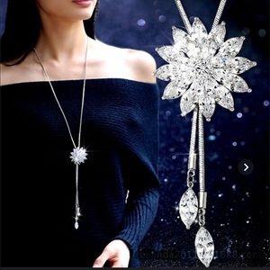 Stunningly Gorgeous Rhinestones Lasso Necklace